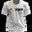 Thumbnail: Camiseta Branca - Bandeira Gênero Fluido Pantone