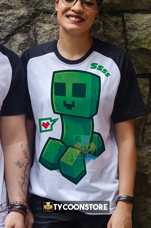 Camiseta - Creeper Minecraft