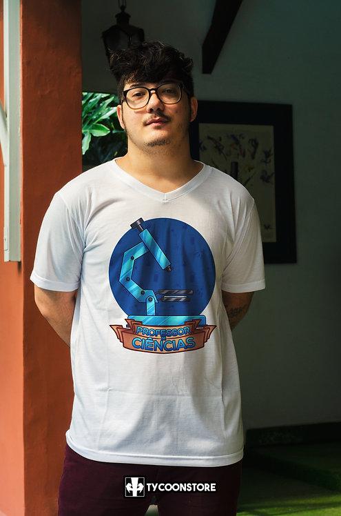Camiseta - Professor de Ciências