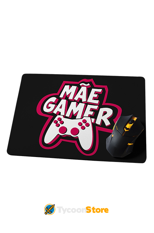Mousepad Grande - Mãe Gamer Presente Dia das Mães