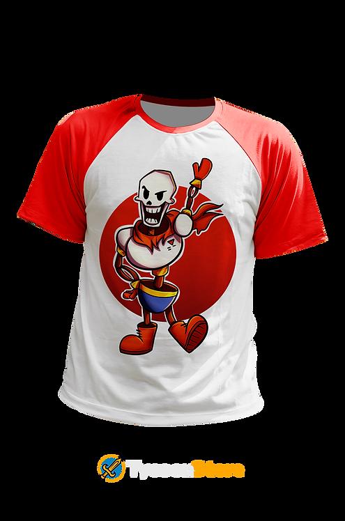 Camiseta Manga Colorida - Papyrus