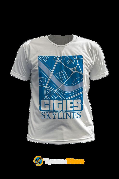 Camiseta - Cities Skylines Jogo