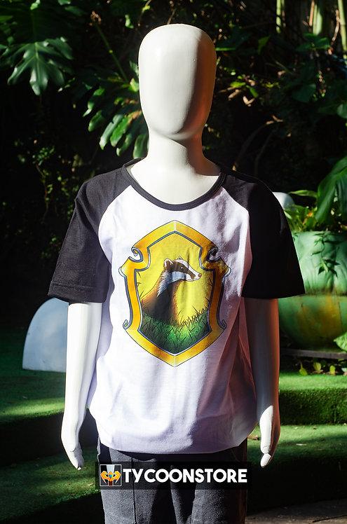 Camiseta Infantil - Brasão Lufa Lufa
