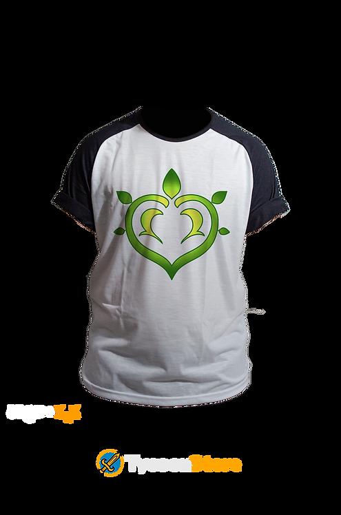 Camiseta Raglan - Dendro (Genshin Impact)