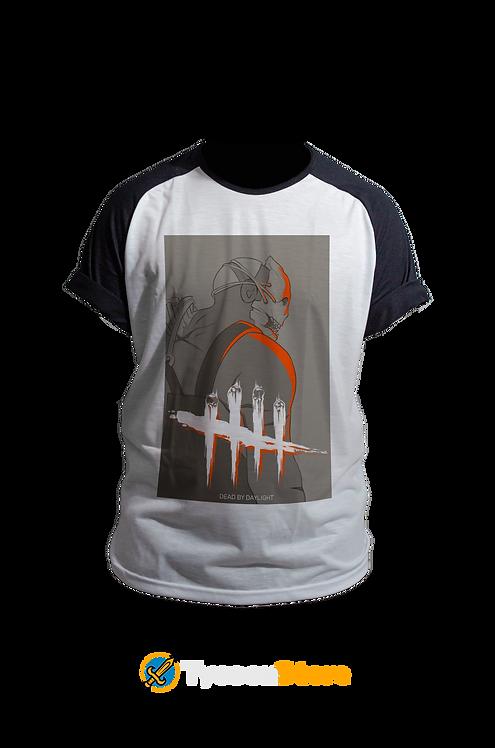 Camiseta Manga Preta - Dead By Daylight (Jogo)