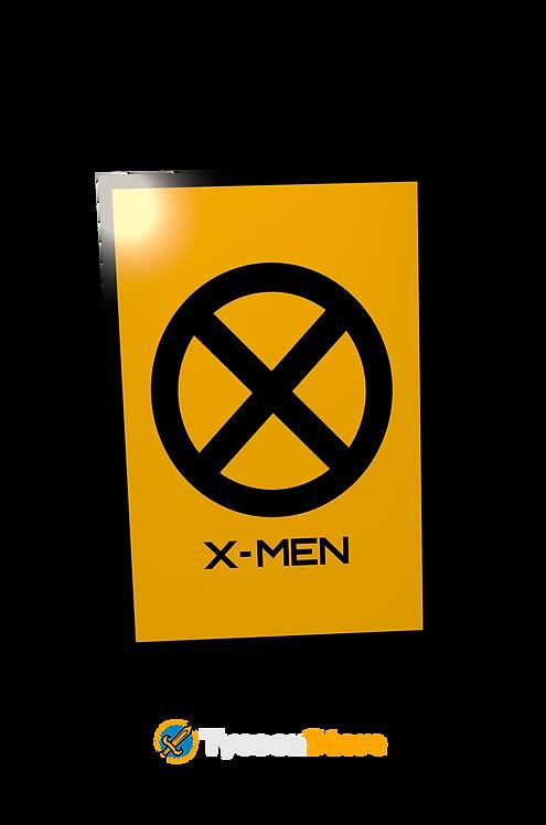 Placa Decorativa - X-men (Marvel)