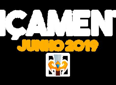 LANÇAMENTOS JUNHO 2019