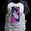 Thumbnail: Camiseta Manga Preta - Gato Astronauta