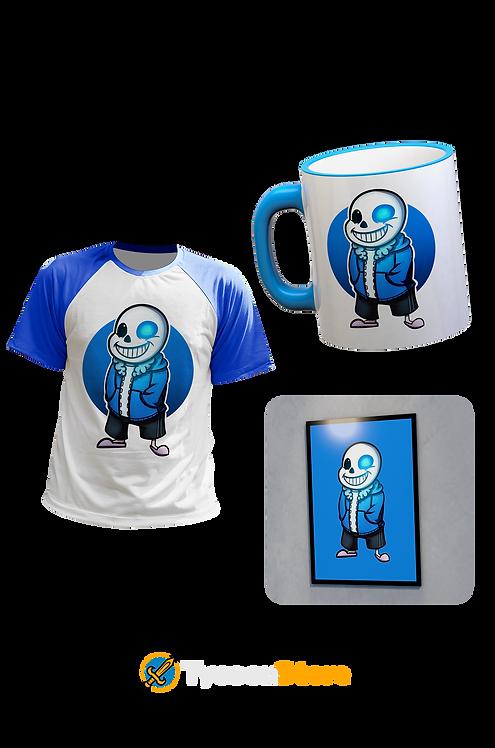 KIT - Sans [Camiseta, Quadro e Caneca]
