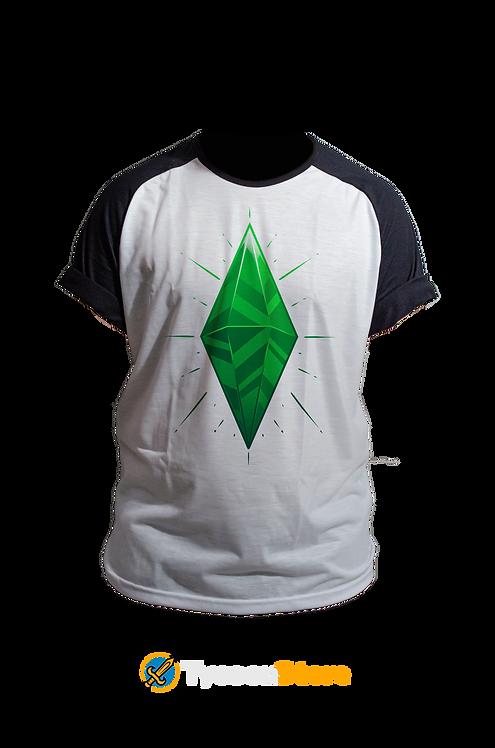 Camiseta Manga Preta - The Sims