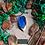 Thumbnail: Colar - Resina e Madeira Azul #77