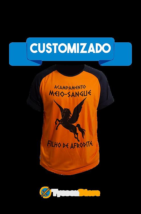 Camiseta Personalizada - Acampamento Meio-Sangue (Percy Jackson)