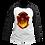 Thumbnail: Camiseta Capuz - Brasão Grifinória