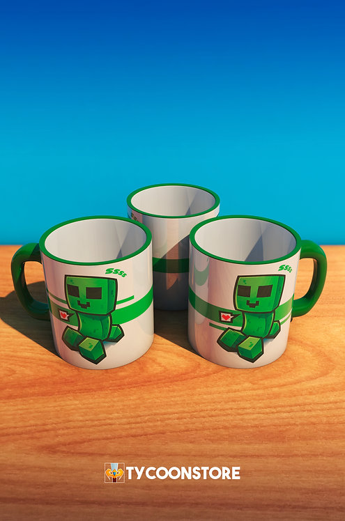 Caneca - Creeper (Minecraft)