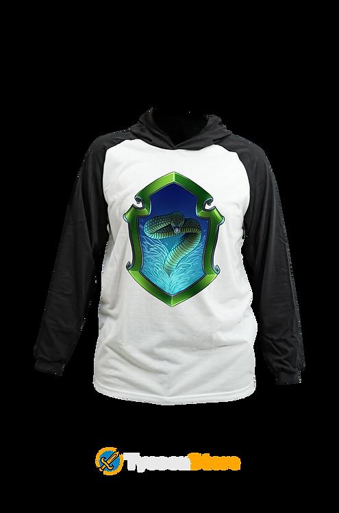 Camiseta Capuz - Brasão Sonserina Slytherin