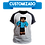 Thumbnail: Camiseta Manga Preta - Sua Skin de Minecraft 3D Personalizado