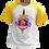 Thumbnail: Camiseta Manga Amarela - LGBT Warrior (LGBT Gamer Nerd Geek)