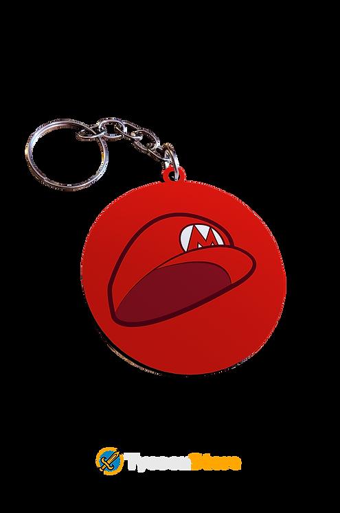 Chaveiro MDF -  Chapeu Mario Bros