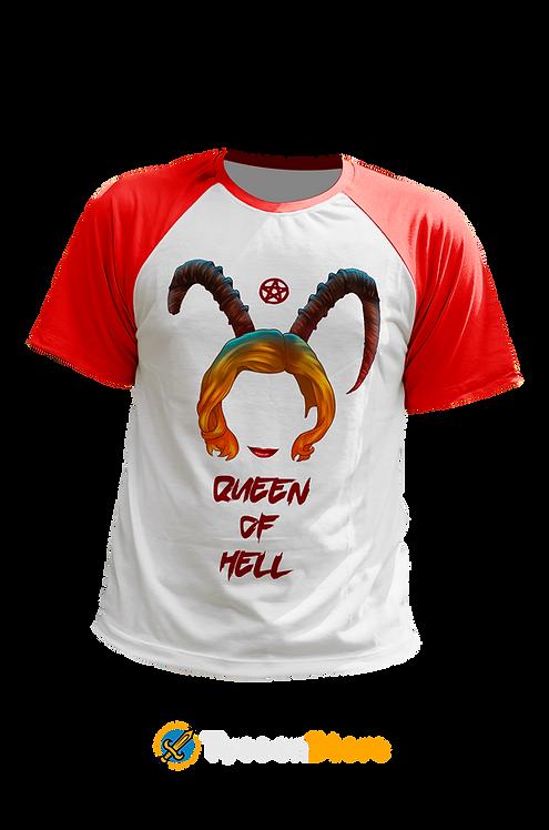Camiseta - O Mundo Sombrio de Sabrina (Queen of Hell)
