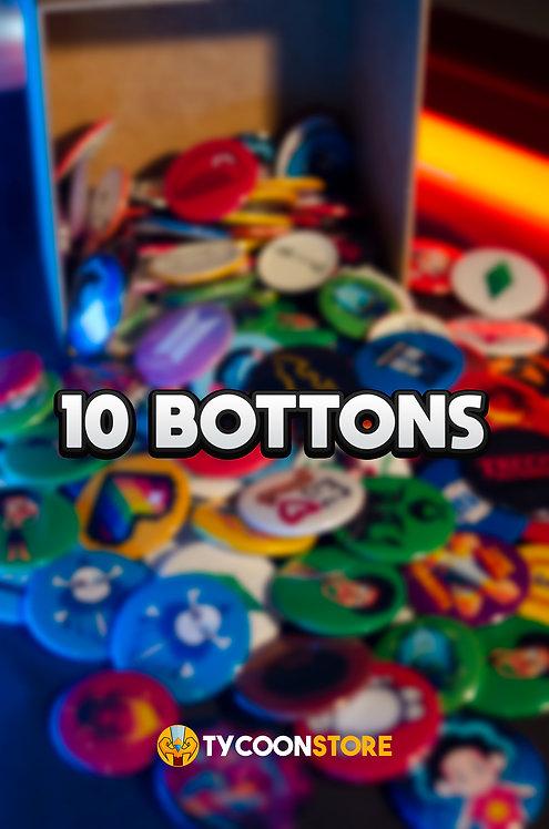 KIT - 10 bottons de sua escolha