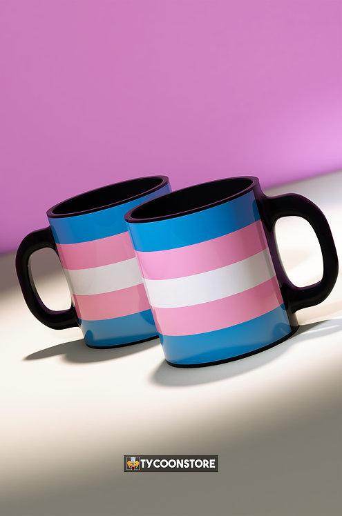 Caneca - Bandeira Trans