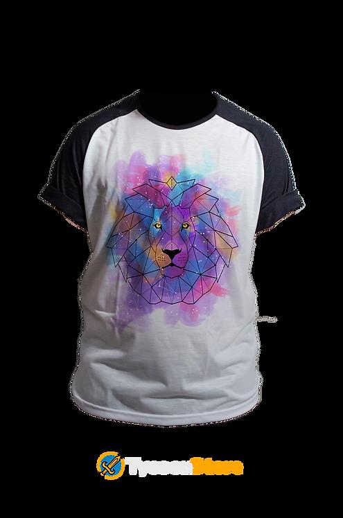 Camiseta - Leão Lowpoly