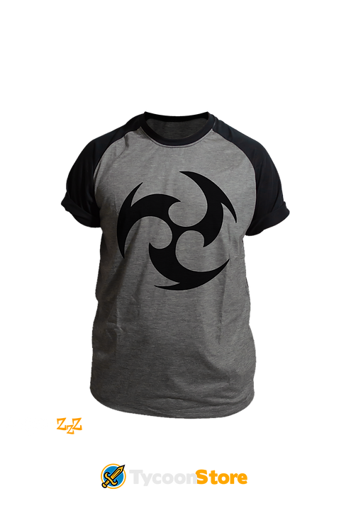Camiseta Mescla - Electro (Genshin Impact)