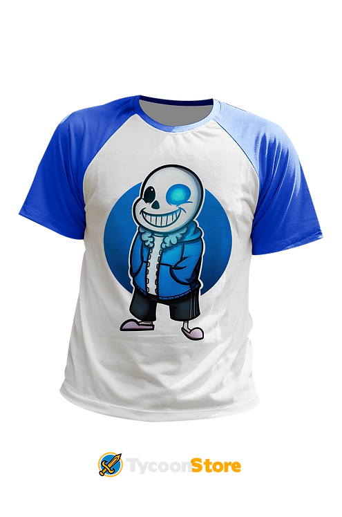 Camiseta Manga Colorida - Sans