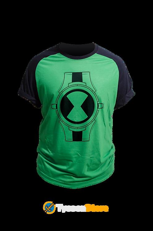 Camiseta Verde - Ben 10 Omnitrix