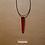 Thumbnail: Colar - Resina Vermelho #91