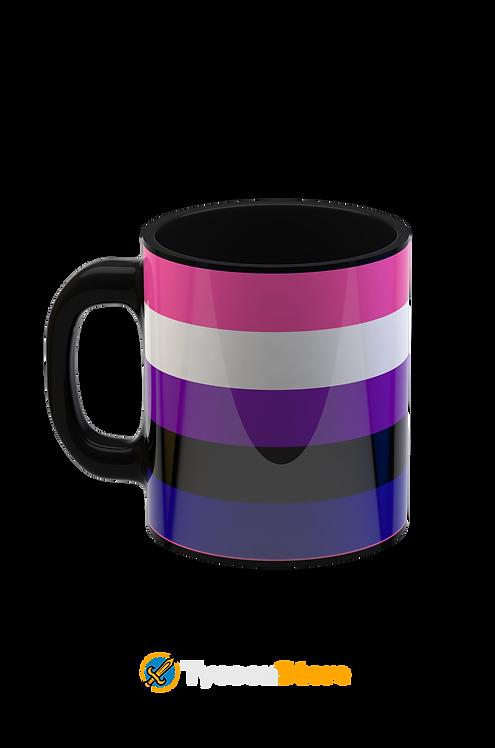 Caneca - LGBT  Gênero Fluído