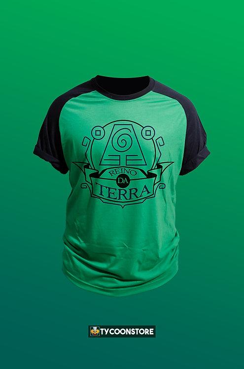 Camiseta Colorida - Reino da Terra (Avatar)