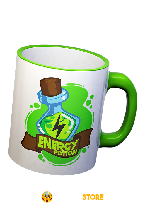 Caneca - Energy Potion (Poção de Energia)