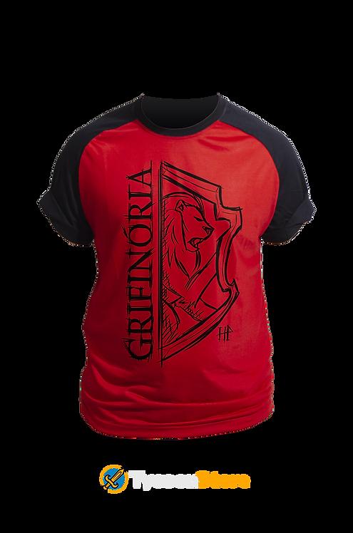 Camiseta Vermelha - Casa Grifinória Gryffindor [V2]