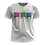 Thumbnail: Camiseta Branca - Bandeira Polisexual Pantone