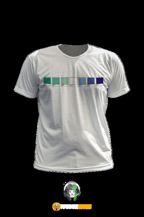 Camiseta - Bandeira Gay Pantone