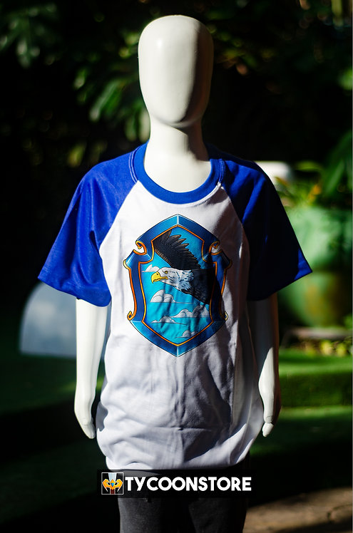 Camiseta Infantil - Brasão Corvinal