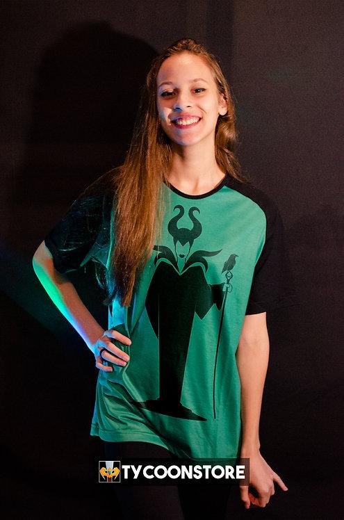Camiseta Colorida - Malévola