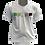 Thumbnail: Camiseta Branca - Bandeira Arosexual Pantone