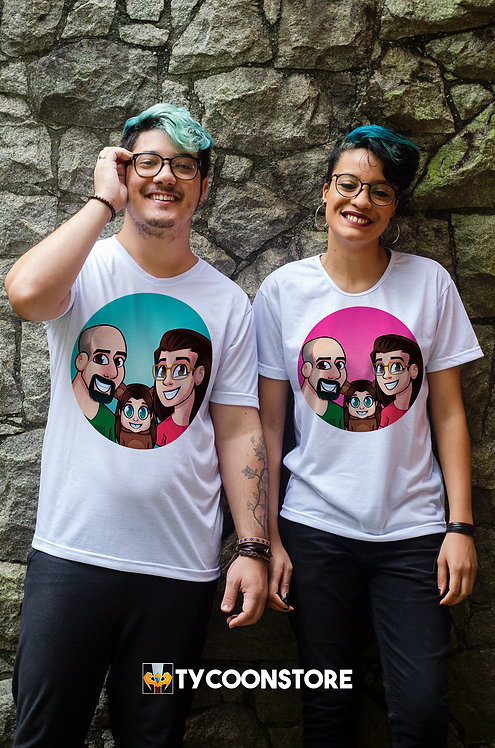 Camiseta - Canal Jr e Mi