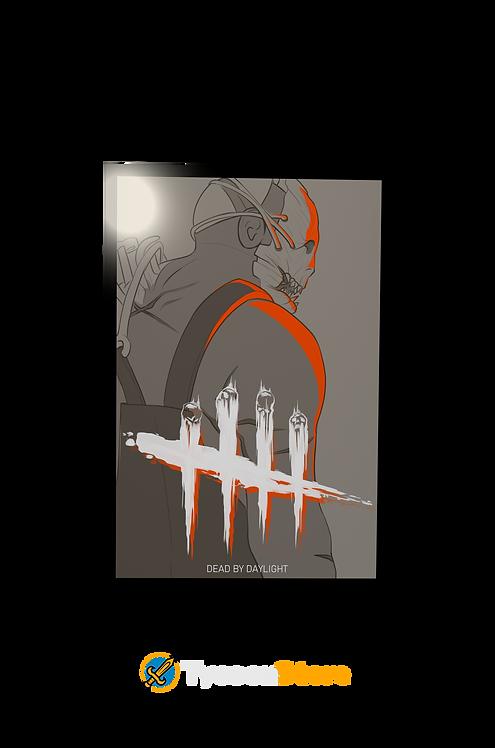 Placa Decorativa - Dead By Daylight (Jogo)