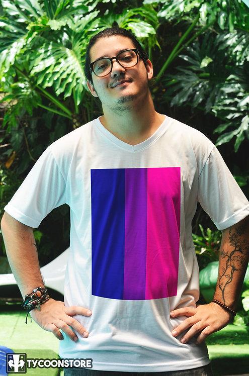 Camiseta - Bandeira Bissexual