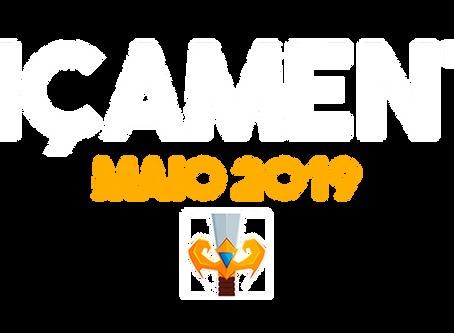 MAIO 2019 (LANÇAMENTOS)