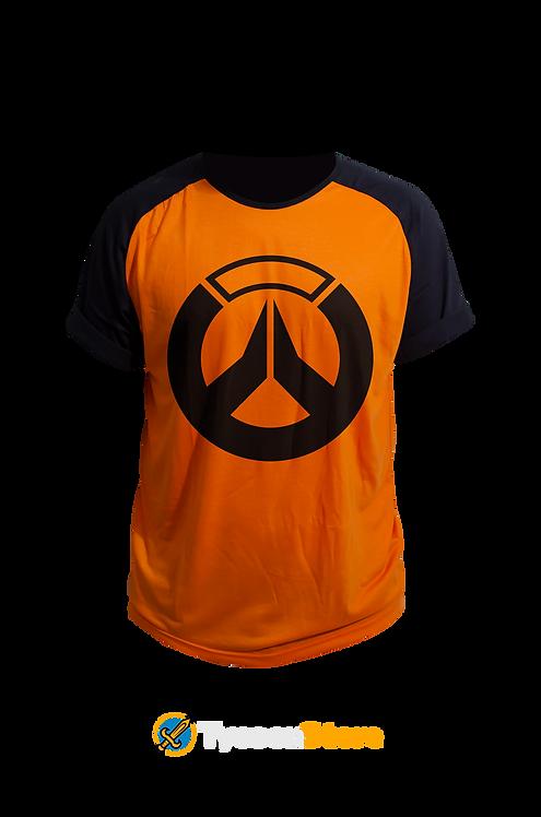 Camiseta Colorida - Overwatch Logo