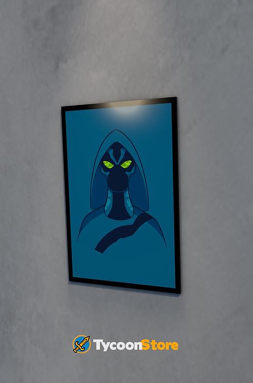 Placa Decorativa - Friagem (Ben 10)