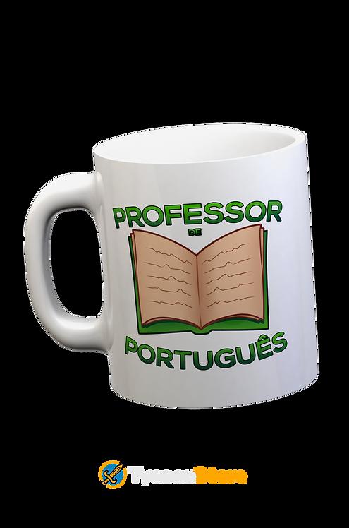 Caneca Branca - Professor de Português