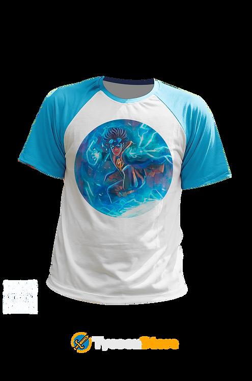 Camiseta Manga Ciano - Super Choque