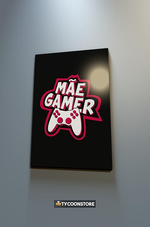 Placa Decorativa - Mãe Gamer