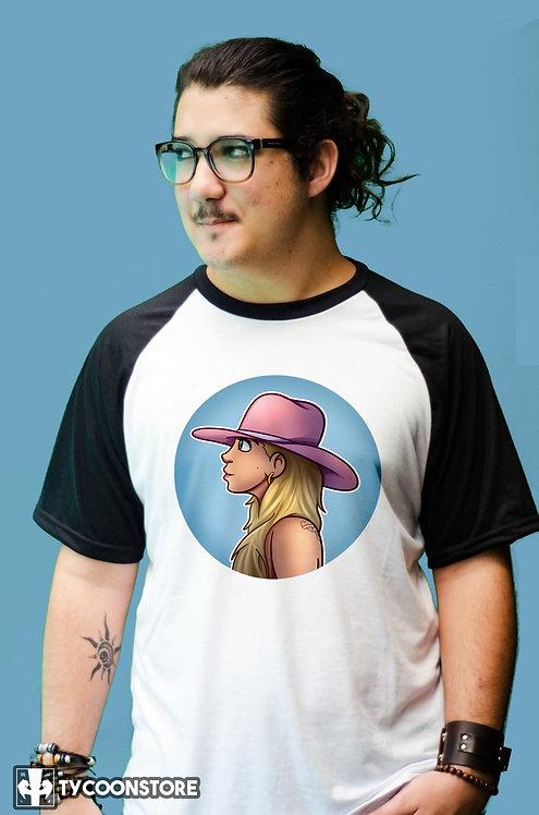 Camiseta Manga Preta - Joanne