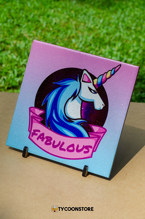 Azulejo Decorativo - Fabulous Unicórnio
